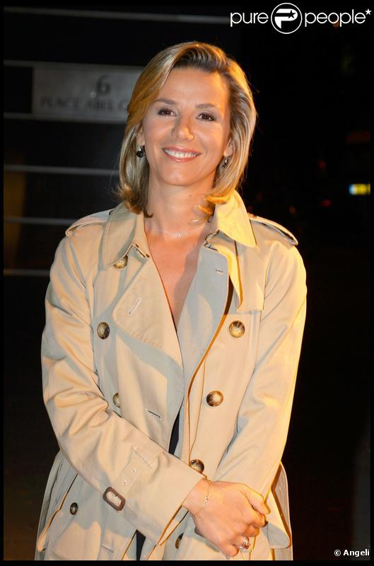 Laurence Ferrari au cocktail de rentrée de TF1. 16/09/09