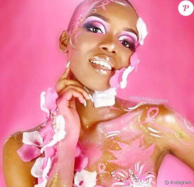 Anaëlle Guimbi, éliminée de l'élection Miss Guadeloupe.