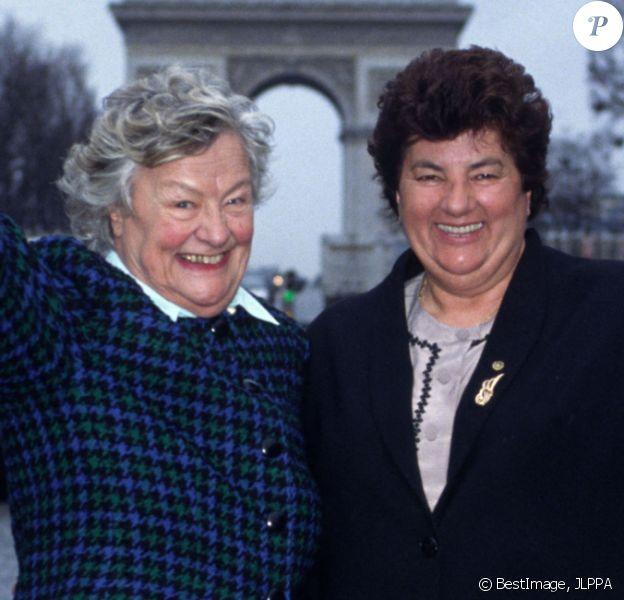 Archives - Micheline et Maïté. @JLPPA / Bestimage