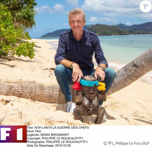 """Denis Brogniart, animateurde """"Koh-Lanta, la guerre des chefs"""", sur TF1"""