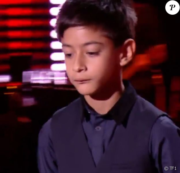 "Ilan, candidat de ""The Voice Kids"" saison 7 - TF1"