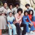 La famille Jackson à l'époque des Jackson Five.