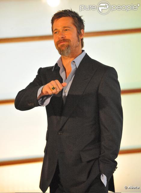 Brad Pitt lors du Festival espagnol de cinéma de San Sebastian le 18 septembre 2009