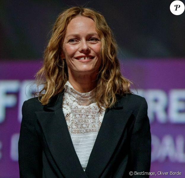 """Vanessa Paradis - Avant-première du film """"Les Deux Alfred"""" lors du 46ème Festival du Cinéma Américain de Deauville. © Oliver Borde / Bestimage"""