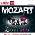 La troupe de la comédie musicale  Mozart, l'Opéra Rock  sera au Studio SFR le 30 septembre prochain pour un showcase.