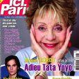 """Régine dans le magazine """"Ici Paris"""" du 9 septembre 2020."""