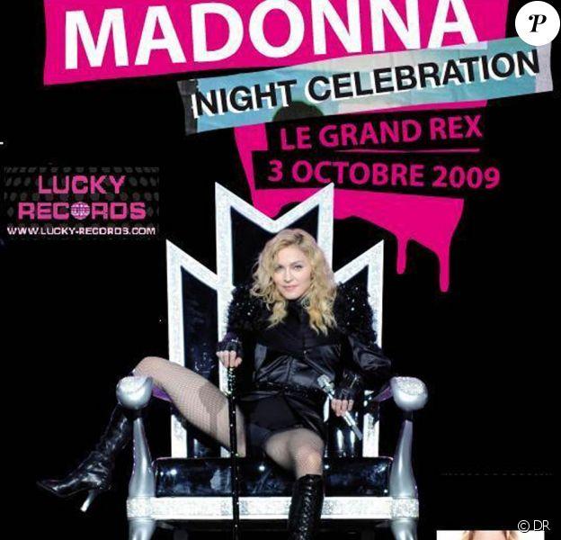 Madonna sera l'objet d'une nuit exceptionnel au Grand Rex : ses 30 clips les plus mythiques seront diffusés sur grand écran