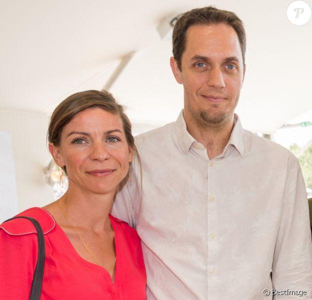 Exclusif - Grand Corps malade (Fabien Marsaud) et sa femme Julia avec Tony Parker et sa femme Axelle Francine - People lors du Longines Paris Eiffel Jumping au Champ-de-Mars à Paris..
