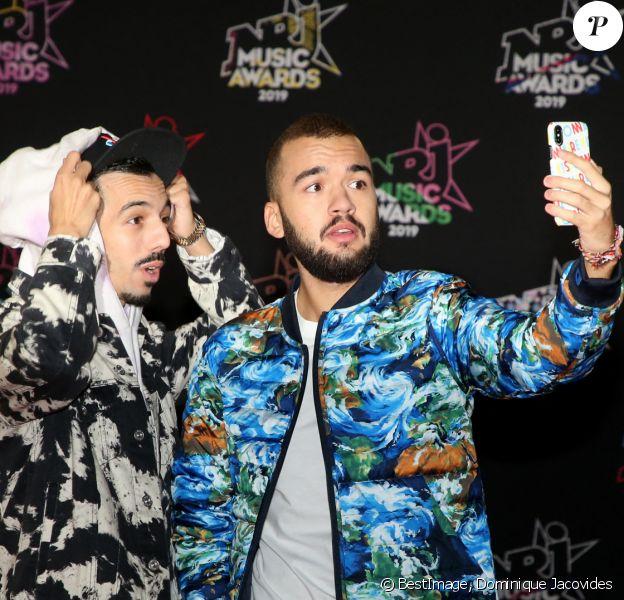 Bigflo et Oli - 21e édition des NRJ Music Awards au Palais des festivals à Cannes. © Dominique Jacovides/Bestimage