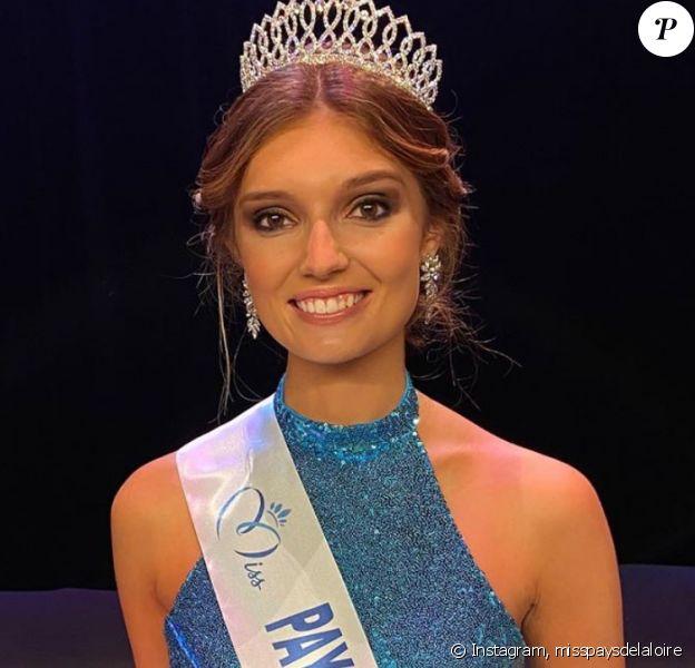 Julie Tagliavacca élue Miss Pays de la Loire 2020