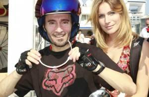 Max Biaggi et sa fiancée Eleonora, miss Italie 2002, ont eu une petite fille !