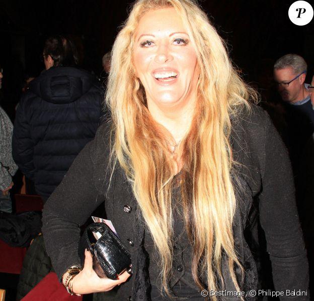 """Loana Petrucciani à la première du spectacle """"Danièle Gilbert et les idoles de Midi-Première"""" au Casino de Paris. © Philippe Baldini/Bestimage"""