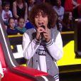 """Enzo lors de la demi-finale de """"The Voice Kids 2020"""", samedi 3 octobre 2020, TF1"""