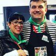 """Pierre et Frédérique de """"L'amour est dans le pré"""" au Salon de l'agriculture - Instagram"""