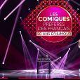 """Exclusif - Enregistrement de l'émission """"Les comiques préférés des français"""" au Dôme des Sports, qui sera diffusée le 10 octobre sur France 2. © Pierre Perusseau / Bestimage"""