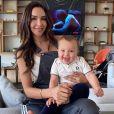 Nabilla et son fils Milann sur Instagram.