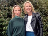 "Audrey Lamy : Rayonnante en jaune, sa soeur Alexandra la trouve ""sublime"""