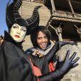 Audrey Pulvar à l'occasion de l'ouverture de la saison d'Halloween à Disneyland Paris, le 26/09/09