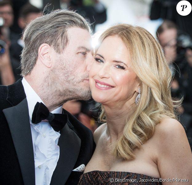 """John Travolta et sa femme Kelly Preston - Montée des marches du film """"Solo : A Star Wars Story"""" lors du 71e Festival International du Film de Cannes. Le 15 mai 2018 © Borde-Jacovides-Moreau/Bestimage"""