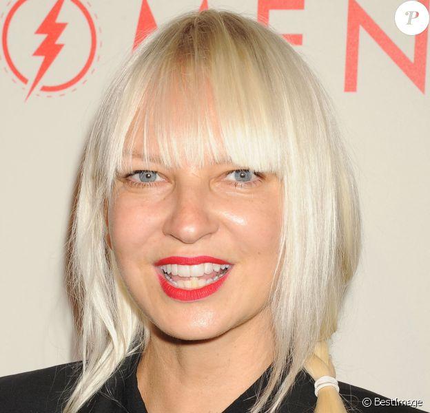 """Sia lors de la soirée """"An Evening With Women"""" à l'hôtel Beverly Hilton à Beverly Hills."""