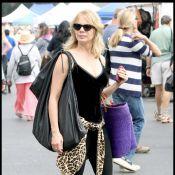 Rosanna Arquette : Petite balade entre mère et fille... à Malibu !