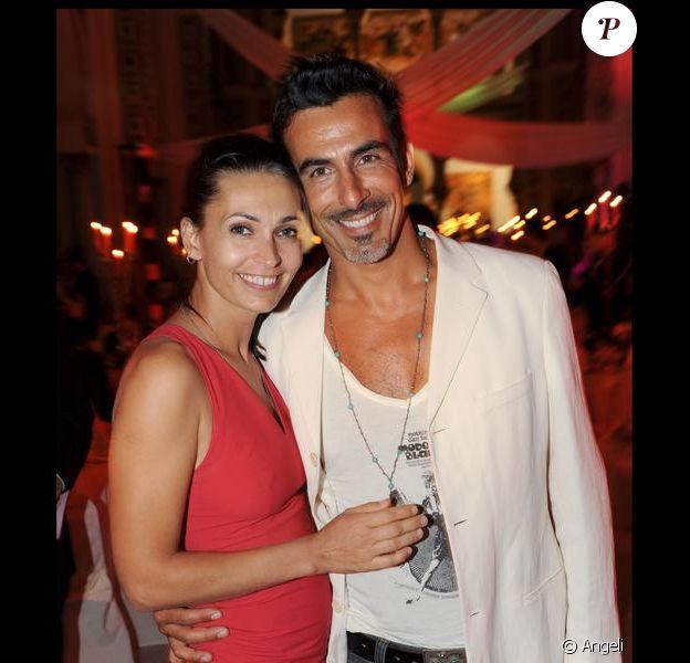 Adeline Blondieau et son fiancé Laurent au Festival International du Film de Tunis. 27/09/09