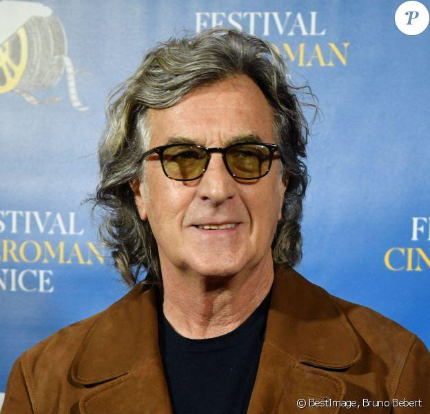 François Cluzet durant la troisième soirée de la 1ère éditon du Festival Ciné Roman à Nice. © Bruno Bebert / Bestimage