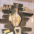"""David Golis (Loft Story 2) a ouvert un restaurant italien à Suresnes, """"Acqua in bocca""""."""