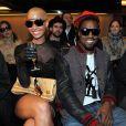 Amber Rose, tchin tchin, deux pour le prix d'une ! Le mannequin a accompagné Kanye West durant toute la Fashion Week parisienne, qui s'est tenue début mars 2009 !