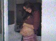 Shy'm enceinte : en brassière et culotte pour partager son immense bonheur