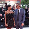 """Vincent Cassel et sa femme Tina Kunakey - Red carpet du film """"J'accuse"""" lors du 76ème Festival du Film de Venise, la Mostra à Venise en Italie le 30 Août 2019"""