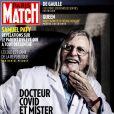 """Couverture du magazine """"Paris Match"""", numéro du 29 octobre 2020."""