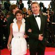 Antoine et sa fille Emma de Caunes au Festival de Cannes en 2008