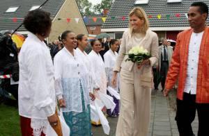 Avec Maxima des Pays-Bas, c'est... la fête au village !