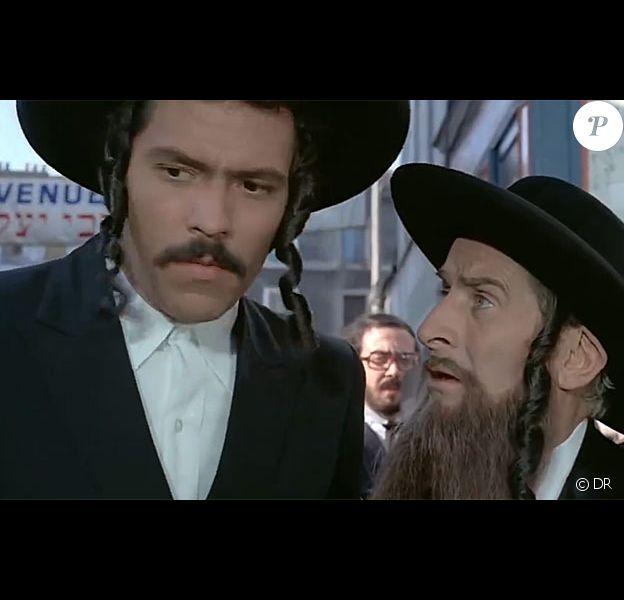 """Claude Girraud dans """"Rabbi Jacob"""". L'acteur est mort à 84 ans."""