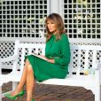 Melania Trump lit un conte pour enfants à la Maison Blanche pour une vidéo diffusée le dimanche de Pâques pendant l'épidémie de coronavirus (COVID-19) Washington, le 8 avril 2020