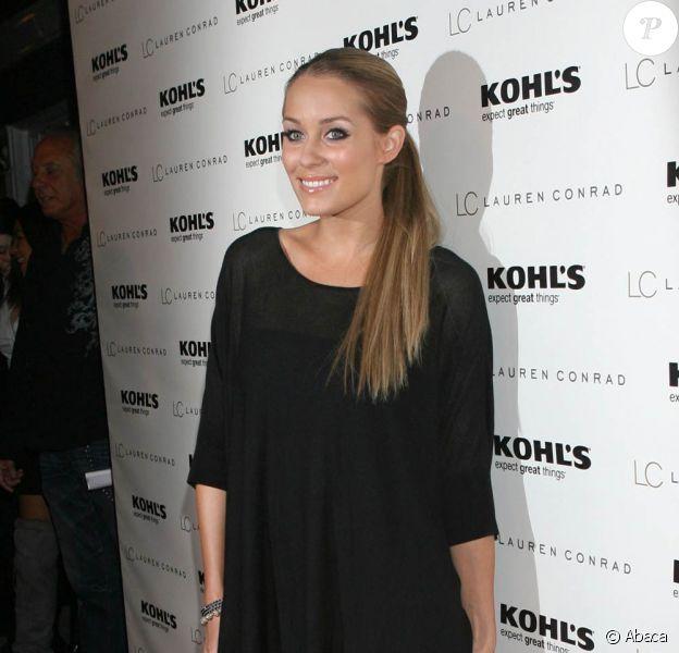 Lauren Conrad à Melrose Place pour la soirée de lancement de sa ligne de vêtements en collaboration avec Kohl's