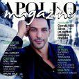 """Tomer Sisley dans le magazine """"Apollo"""", automne-hiver 2020-2021."""