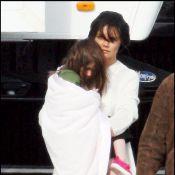 Quand Katie Holmes emmène sa Suri au musée... Elle est trop tristounette !