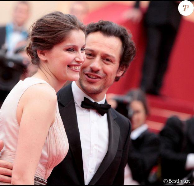 Laetitia Casta et Stefano Accorsi au 64e Festival de Cannes.