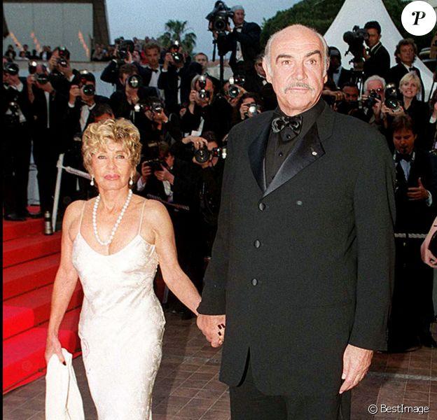 Sean Connery et sa femme Micheline Roquebrune.