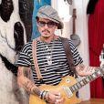 Johnny Depp en avril 2020.