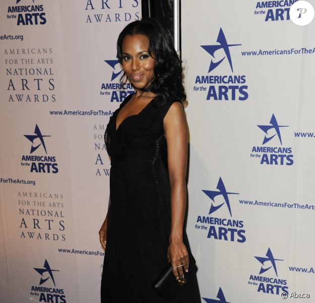 Kerry Washington lors des National Arts Awards le 5 octobre 2009 à New York