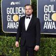 Leonardo DiCaprio - Photocall de la 77ème cérémonie annuelle des Golden Globe Awards au Beverly Hilton Hotel à Los Angeles, le 5 janvier 2020.