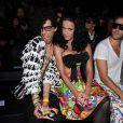 Sliimy et Katy Perry au défilé Castelbajac