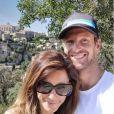 Marion Jollès-Grosjean et Romain Grosjean à Gordes, dans le Lubéron. Instagram, le 18 juillet 2019.