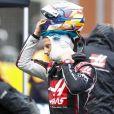 Romain Grosjean, Haas F1, on the grid - Formule1, Grand Prix de Turquie 2020 à Istanbul le 15 novembre 2020.
