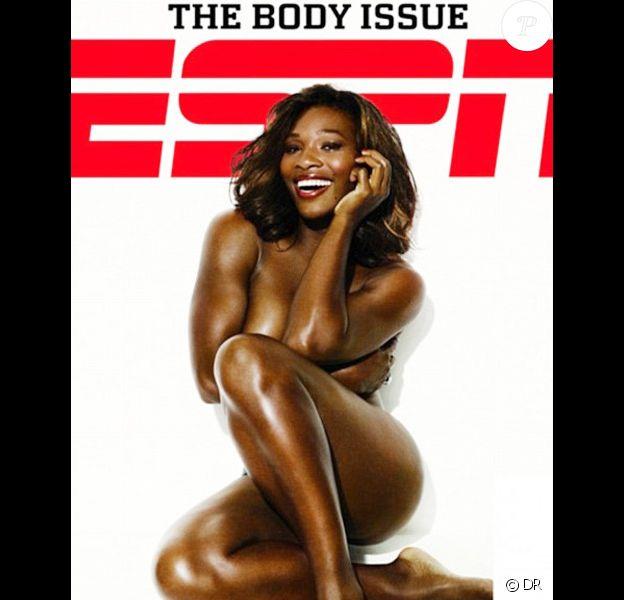Serena Williams en couverture du hors-série The Body Issue de ESPN