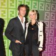 Emmanuel-Philibert de Savoie et Clotilde Courau, à l'occasion de la soirée Fendi 'O' Party, qui s'est tenue au VIP Room Theatre lors de la Fashion Week parisienne, le 6 octobre 2009 !