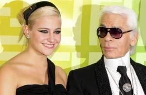 Karl Lagerfeld, Julie Depardieu, Katy Perry et toutes les stars... sous le charme de Pixie Lott !
